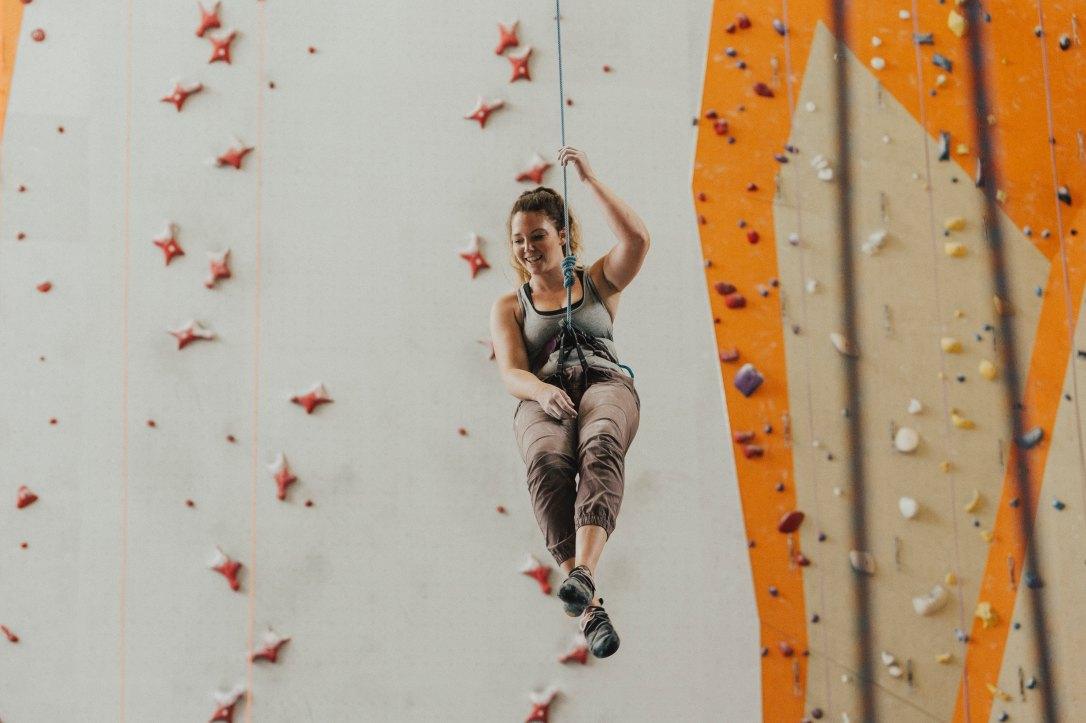 Klettern - mal was Neues probieren